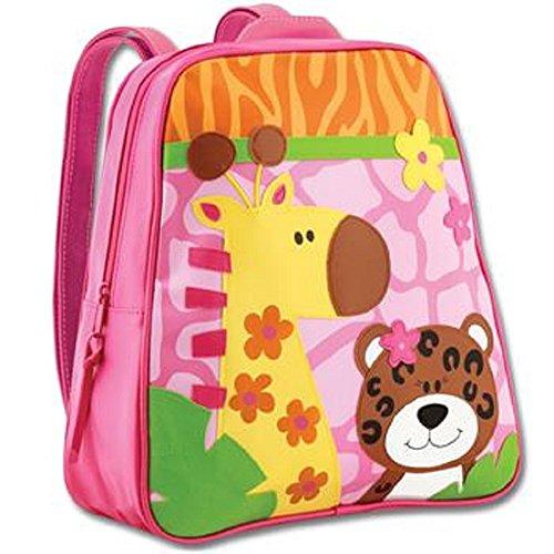 Zoo/tigre/girafe/fille école sac à dos d'écolier et rembourrées ajustables