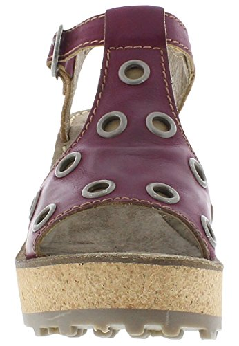 FLY London Goff643fly, Sandales Compensées femme Lilas