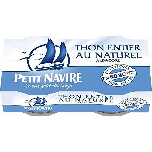 Petit Navire thon au naturel 2x56g - ( Prix Unitaire ) - Envoi Rapide Et Soignée