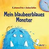 Personalisiertes Kinderbuch - Mein blaubeerblaues Monster