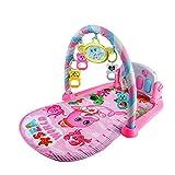 Jannyshop Babyspielmatte Neugeborene Spielzeug Baby Pedal Klavier Bodybuilding Instrument Musik Spiel Decke Spielzeug Klingeln Glocke - Baby Fitness Gamepad