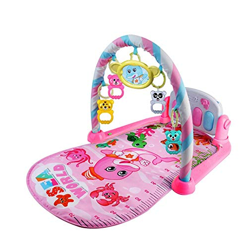 332PageAnn Musik Krabbeldecke Spielteppich Mit Spielbogen, Gymnastik Klavier Bodybuilding Für Neugeborenes Baby-Musik-Spiel-Decke Spielzeug Klingeln Bell Von (Musik Spiel)