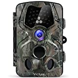 Victure Wildlife Camera with Infrared Night Vision 120°Wide Angle Motion Activated 12MP 1080P
