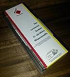 Lernbox mit Karteikarten DIN A7, Lernkartei-System, Karteikasten, Vokabeltrainer