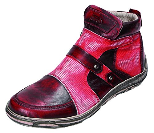 Miccos Shoes Damen Stiefel/Stiefelette D.RV-Stiefel bordo komb.