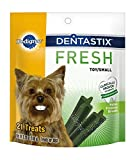 PEDIGREE DENTASTIX Fresh Mini Treats for Dogs - 5.26 oz. 21 Count by Pedigree