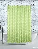 Einfach Runder Punkt Duschvorhang Polyester Wasserdicht Mehltau Europäischen Duschvorhang Opak Kreative Vorhang Vorhang Hotel Bad Vorhang Multi-Standard Duschvorhang Bad (Größe: 200 * 220 Cm)