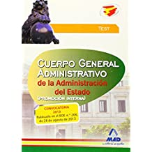 Test - Promocion Interna - Cuerpo General Administrativo De La Administracion Del Estado (Justicia 2013 (mad))