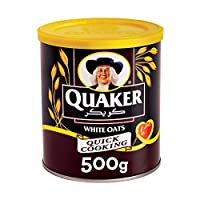 Quaker Quick Cooking White Oats, 500gm