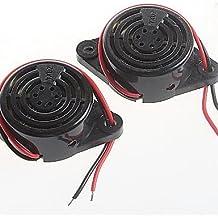 DZXGJ® dc3-24v timbres de voz del altavoz del zumbador de alarma continuos altos decibeles SFM-27 (2pcs)