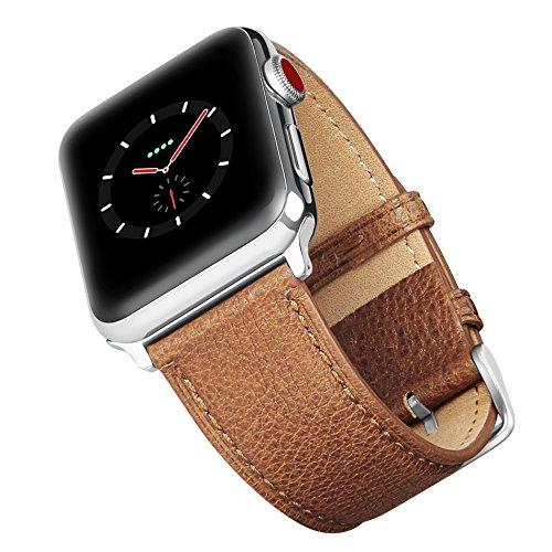 51wcH2dW5UL - [Amazon.de] Benuo Echtes Leder Armband für alle Apple Watches mit 42mm nur 10,79€ statt 17,99€