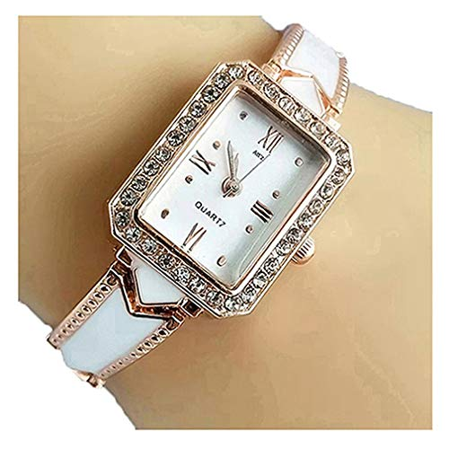 Bonjour Analog Diamond Studded Belt Turquoise Multicolour Dial Women Watch & Girls Watch - KU