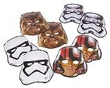 Star Wars 8 Despertar de la fuerza de la película los niños fiesta de cumpleaños máscaras de papel