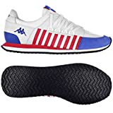 Kappa AUTHENTIC LA84 US ONE White Blue Red Leather Unisex Sneakers Shoes