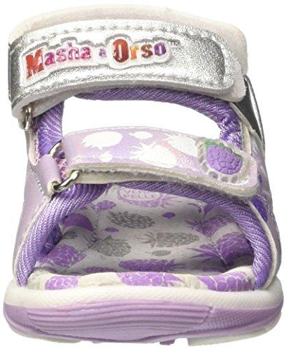 MASHA E ORSO Baby Mädchen S17713gaz Krabbel-& Hausschuhe Viola (Lilla)