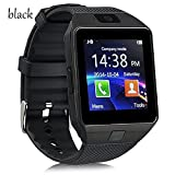 Student Smart GPS Positioning Phone Watch The Elderly Blood Pressure Healthy Heart Rate Black