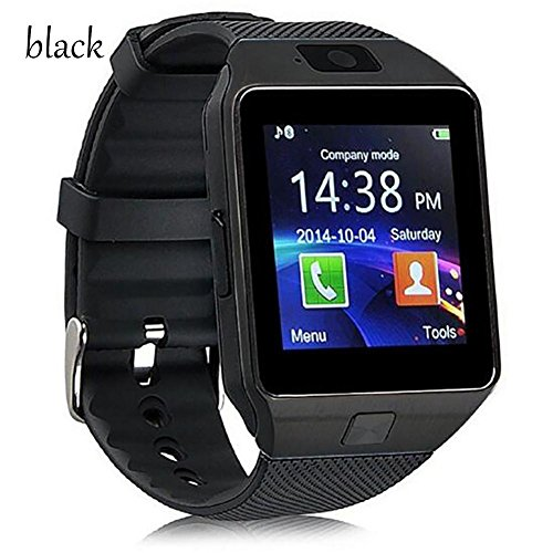Student Smart GPS Positioning Phone watch The elderly Blood pressure Healthy heart rate, black