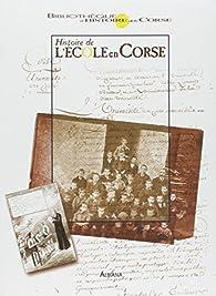 L'Histoire de l'école en Corse par Jacques Fusina
