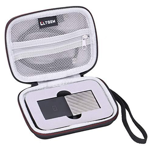 LTGEM EVA Custodia rigida per WD My Passport SSD esterno portatile SSD 1TB 2TB 256GB 512GB viaggio di immagazzinaggio