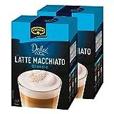 Krüger Dolce Vita Latte Macchiato, Classic, Milchkaffee, Milch Kaffee aus löslichem Bohnenkaffee, 20 Portionsbeutel