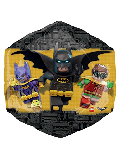 Amscan International 3586701Folie Ballons/Form: Lego Batman