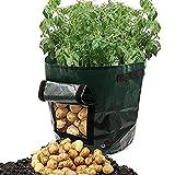 Karne Pflanzen Tasche - Kartoffel Pflanzsack Potato Planter Bag Betriebsblumengras wachsen Topf Hausgarten Anzuchttöpfe