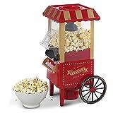 KJRJBD Große Northern Popcorn Red Foundation Popcorn-Maschine Warenkorb elektrische Popcorn-Gerät 1200W 24 *