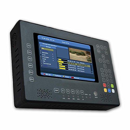 SAB X Finder (Satellite & Terrestrial Meter w/ CCTV Camera Test) DVB S2 & DVB T2 Combo Meter