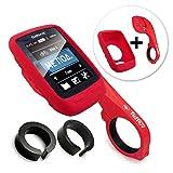 Tuff-Luv C8_43+E4_40_5055261863142 Housse Silicone Rouge Housse de protection pour GPS - Housses de protection pour GPS (Housse, Silicone, Rouge, Garmin, Edge Touring 800 / 810, Résistant à la poussière, Résistant aux rayures)