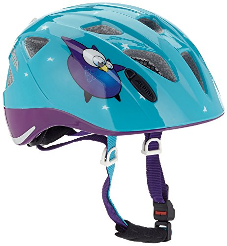 Alpina Kinder Radhelm Ximo Flash Fahrradhelm, owls, 45-49 cm