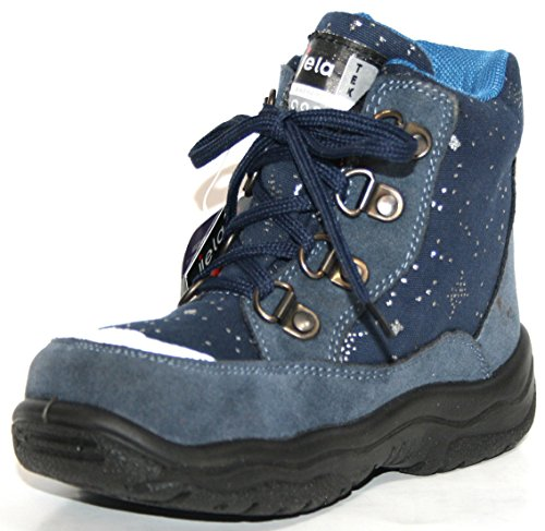 Jela , Bottes de Neige fille Bleu - Bleu marine