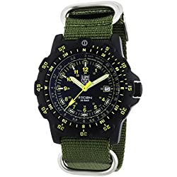 Luminox 8825.KM Men's Quartz Analogue Watch-Green Fabric Strap