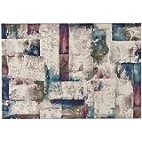 Alfombra dibujo abstracto multicolor – Alfombra Moderno Sitap alta calidad Laguna 63354 – 9191