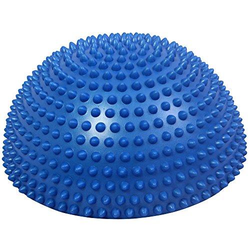 Balance Dome Kissen mit Noppen Halbkugel Igel 33 cm extra groß PVC-frei (übung Balance-halbkugel)