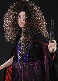 Struts Fancy Dress Kinder Bellatrix LeStrange Stil lockig Perücke