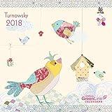 Turnowsky 2018 - GreenLine Kalender, Sprüchekalender, Mini-Broschürenkalender - 17,5 x 17,5 cm
