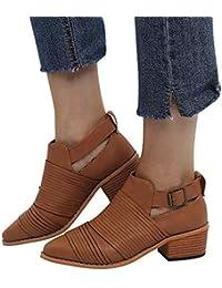 Y es Zapatos Negro Blanco Cuadros Botas Mujer Para Amazon qtxF7C4F