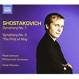 Chostakovitch : Symphonies n° 1 et n° 3