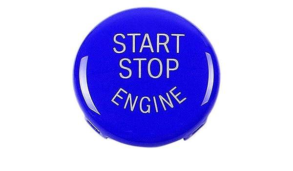 Start Stop Engine-Taste Druckknopf Zündschalter Abdeckung Ersatz Für Bmw X1 1I