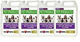 4 x 5 Litre Pet Kennel Disinfectant Lemon Fragrance