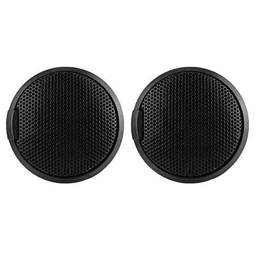 EBTOOLS Schwarz 20W Mini-Autolautsprecher Audio 20W Runder klebbarer Lautsprecher Autolautsprecher mit Kleber