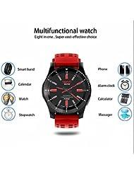 Sport Armband Wristband Smart Sport Tracking Armband Multifunktion Stoppuhren,Kalenderwetter erinnerung,Hochauflösendes Bildschirm,Herzfrequenzberechnung,Schlafüberwachung für iOS und Android Geräte