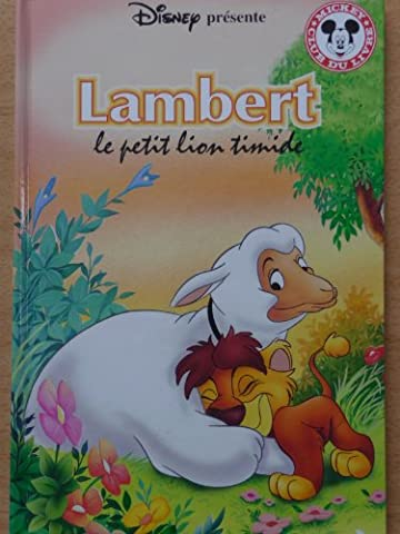 Livre Disney Club Du Livre - Lambert le petit lion timide (Mickey club