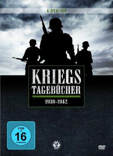 Kriegstagebücher 1939-1942 (Metallbox) [4 DVDs]