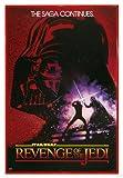 Close Up Star Wars Poster Revenge of the Jedi (94x63,5 cm) gerahmt in: Rahmen rot