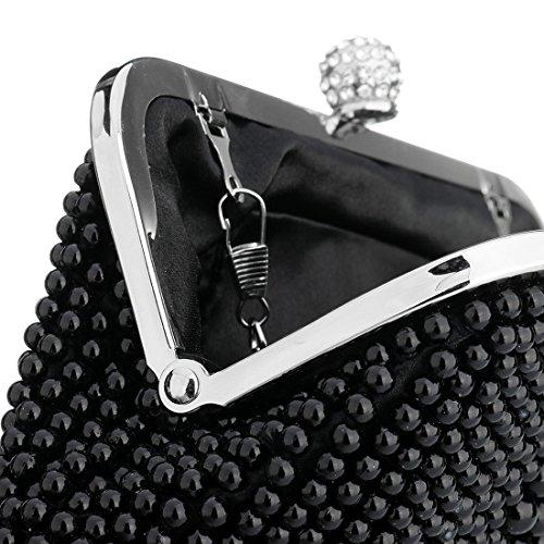 SSMK Evening Bag, Poschette giorno donna Black