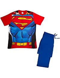 Various Mens Novelty Character PJS Pyjamas 2 Piece Short Costume T-Shirt and Long Bottoms Lounge Set Size UK S-XL