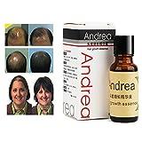 Andrea 5Pcs 20ml Aceite Crecimiento Cabello Esencia para Crecimiento del Pelo...