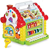 Webby Amazing Learning House - Baby Birthday Gift for 1 2 3 Year Old Boy Girl Child, Multi Color