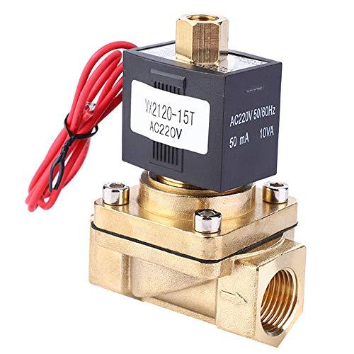 Magnetventil VX2120-15T Normalerweise geöffnetes elektrisches SMC-Zweiwege-Magnetventil 0-1,0 MPa PT1 / 2 AC 220V -